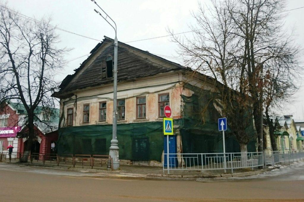 В Кимрах разваливается дом, в котором останавливались Александр II и Жуковский