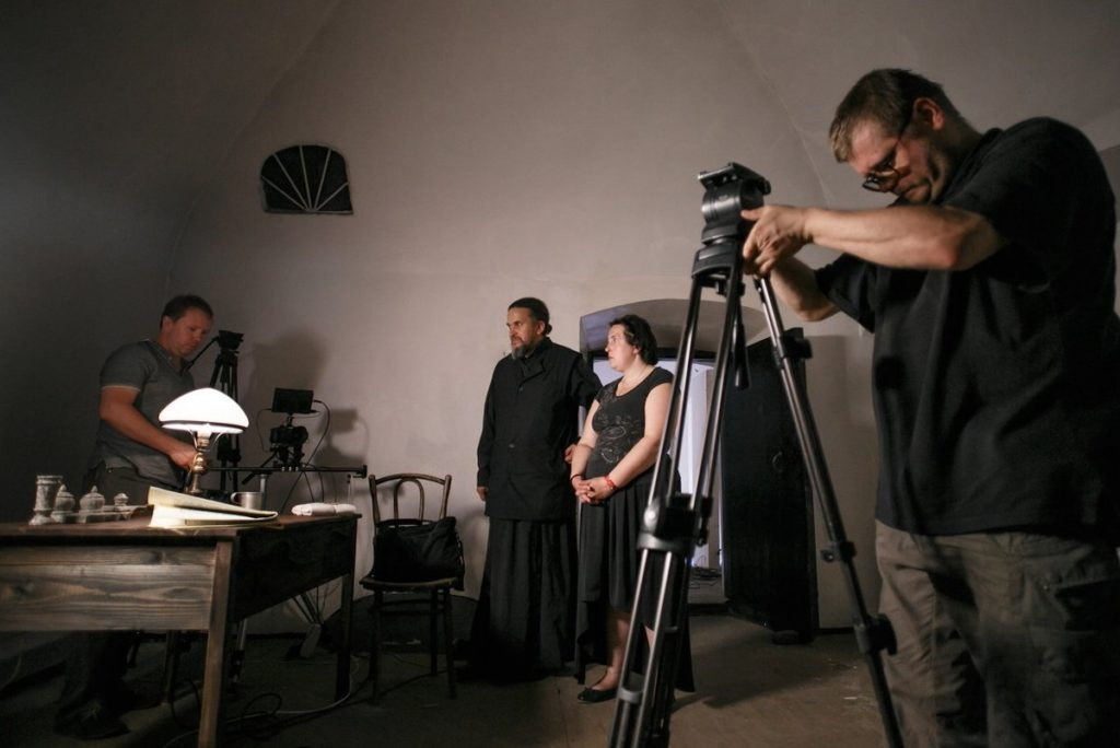 Настоятель монастыря из Красного Холма собирает деньги на фильм о встрече княгини Елизаветы Романовой с убийцей ее мужа