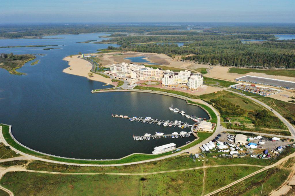 В Тверской области в рамках «Волжского моря» строят речной порт
