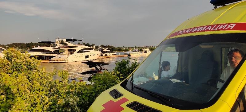 В Конаковском районе произошла авария на воде