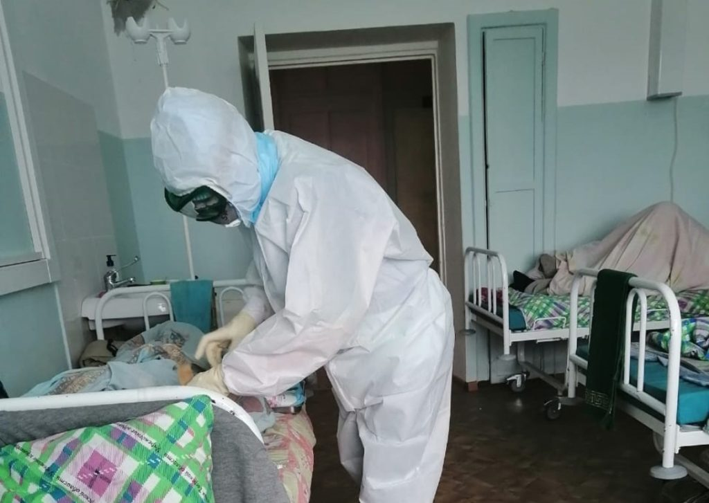 Испытано на себе: журналист в инфекционном госпитале