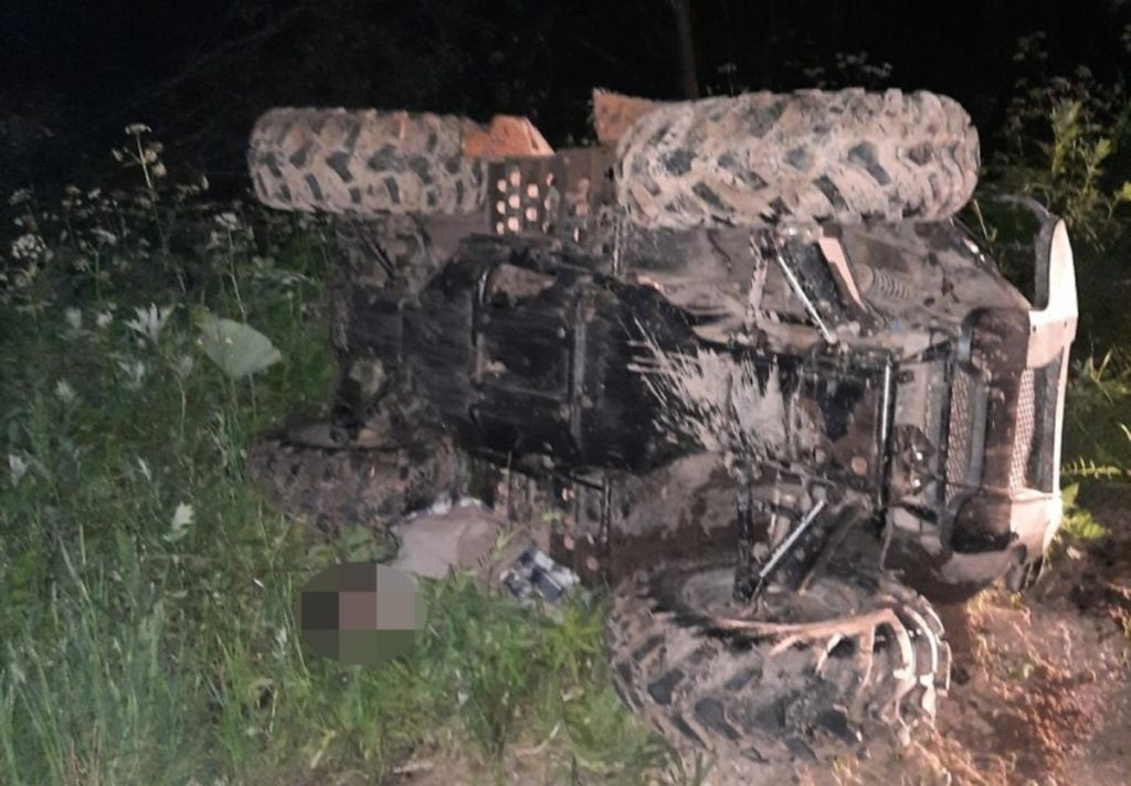 В Тверской области в ДТП погиб водитель квадроцикла