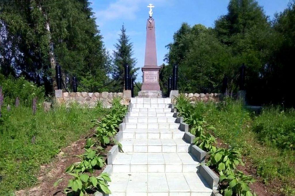 В Тверской области почтили память героя Чесменского сражения лейтенанта Ильина