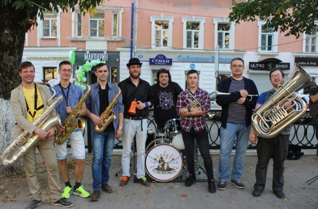 Tver Brass Band – первый в своем роде коллектив в Твери