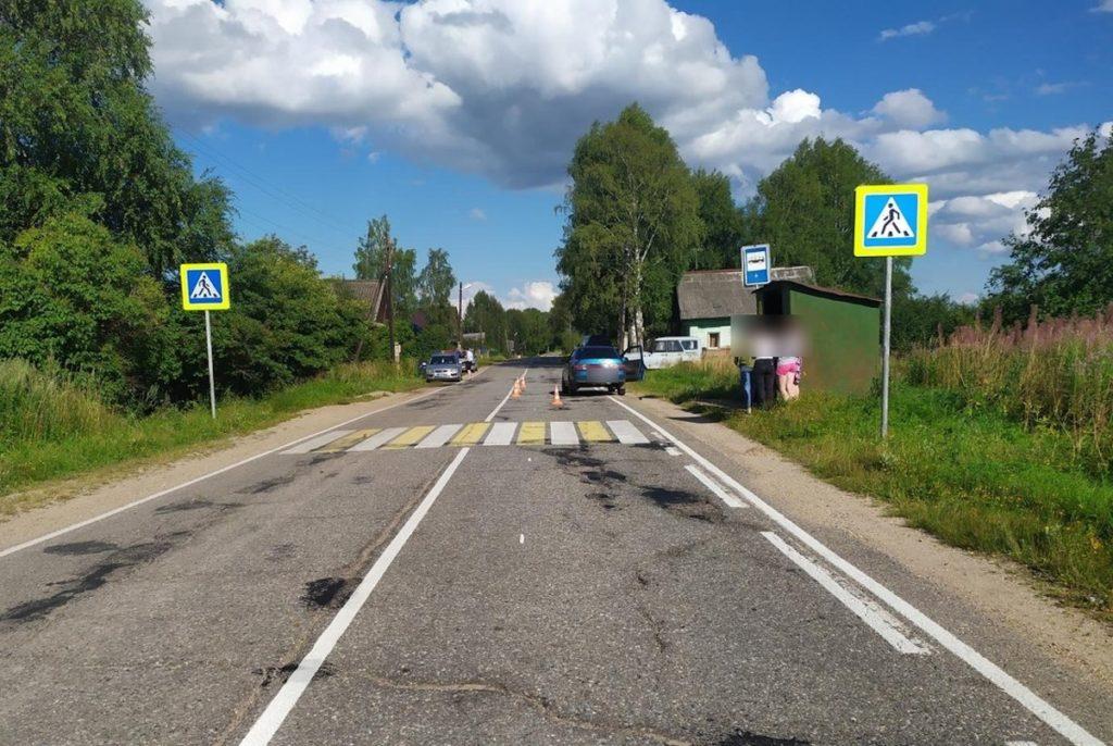 В Тверской области 18-летняя девушка на ВАЗе сбила 5-летнего малыша