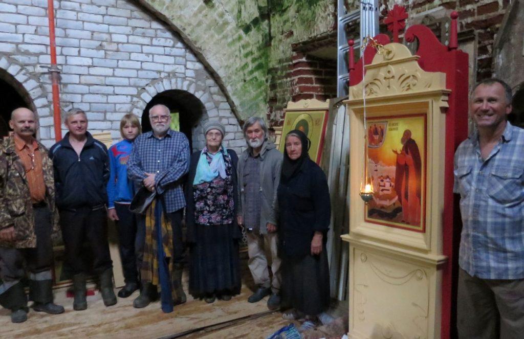 В старинной церкви на родине Макария Калязинского установили иконостас
