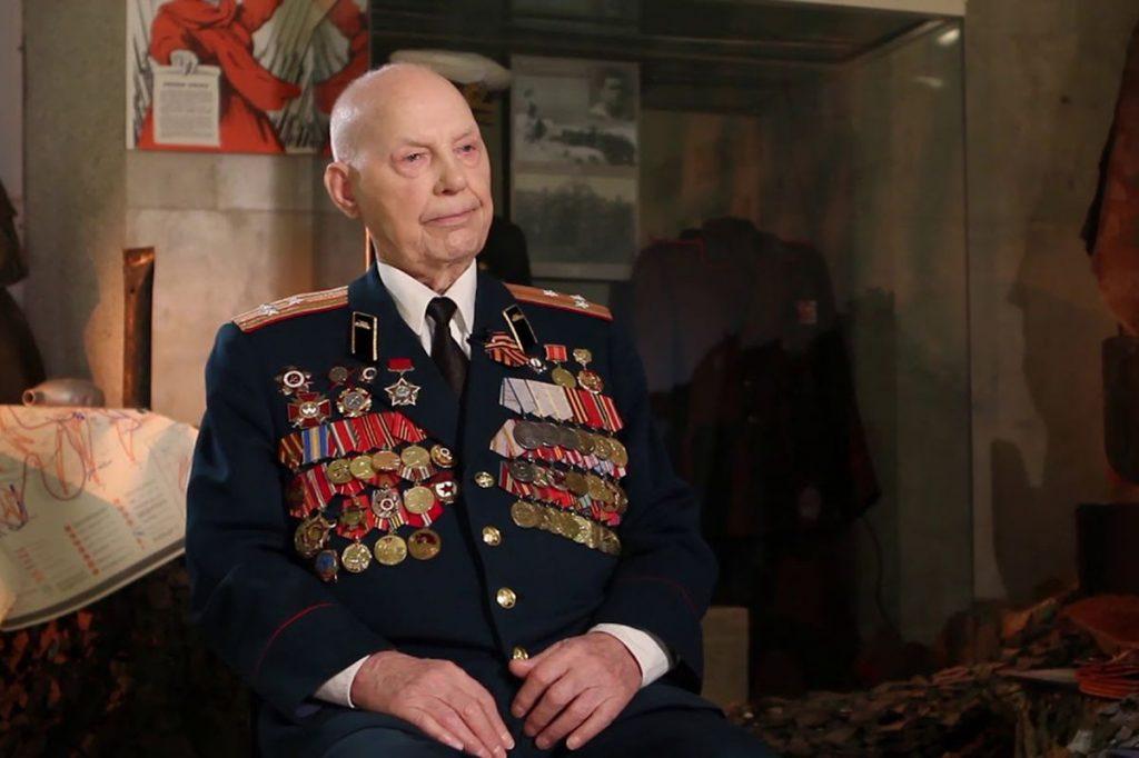 Фронтовик Иван Афанасьев отметил 95-й день рождения