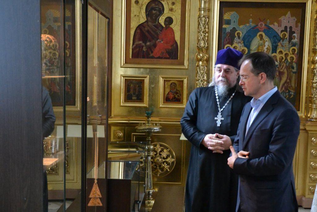Владимир Мединский заинтересовался историей Покровского старообрядческого храма Ржева