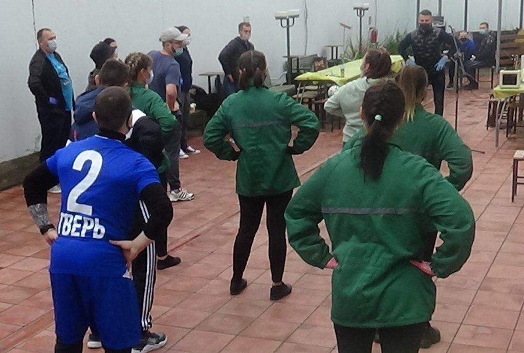 Волонтеры провели в тверском СИЗО-1 веселые старты