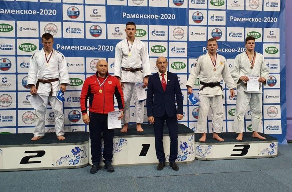 Тверской дзюдоист выиграл золото первенстве ЦФО