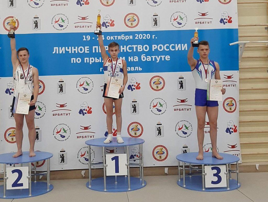Акробаты из Тверской области стали призерами Первенства России