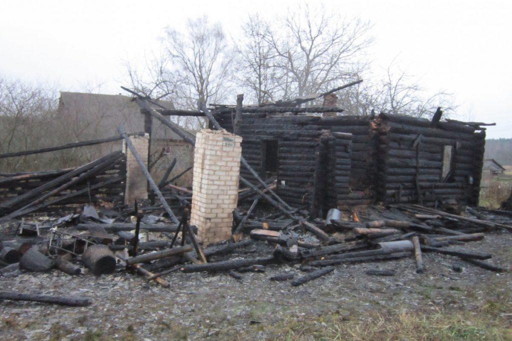 В Тверской области заживо сгорели двое мужчин