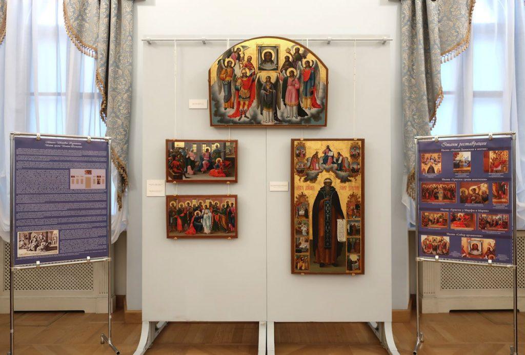 В Твери можно увидеть иконы несохранившегося храма Иоанна Дамаскина