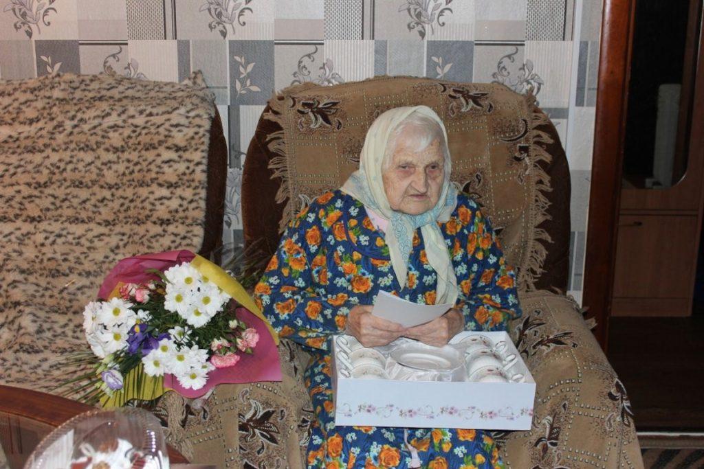 Жительница Тверской области Екатерина Фоминична Колосова отметила вековой юбилей
