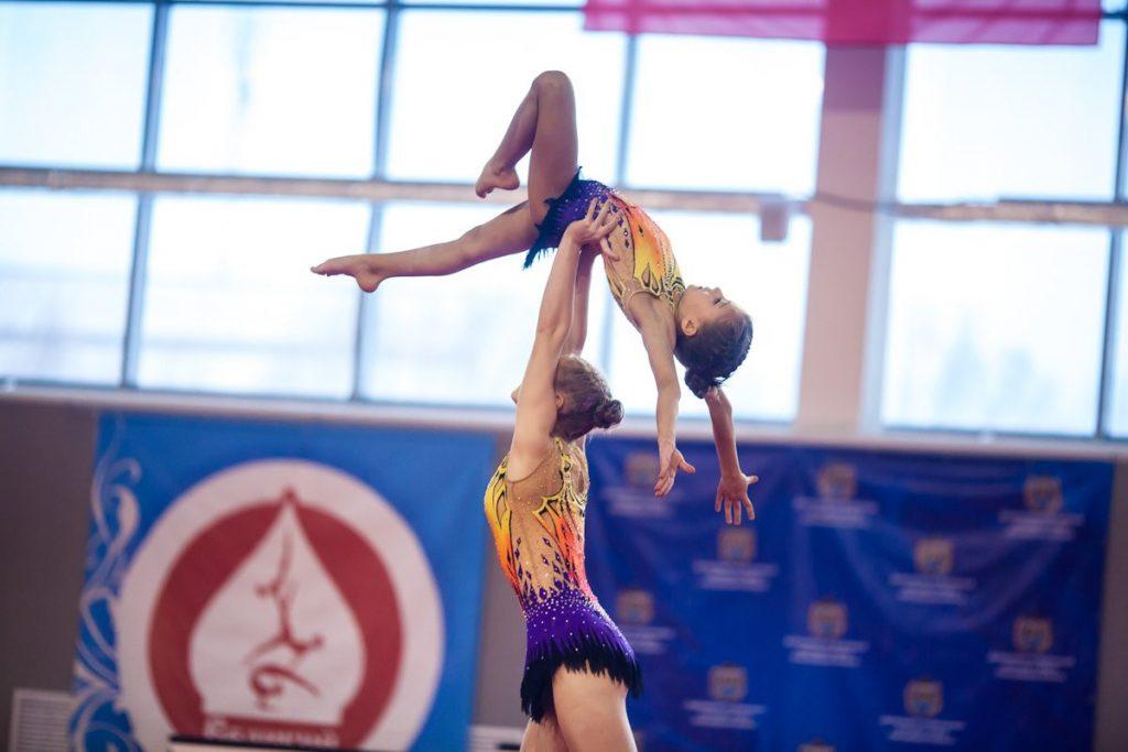 Тверские акробаты завоевали золотые медали на всероссийских соревнованиях