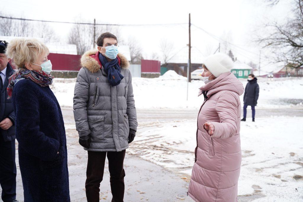 Полпред Президента Игорь Щеголев побывал в Торопце