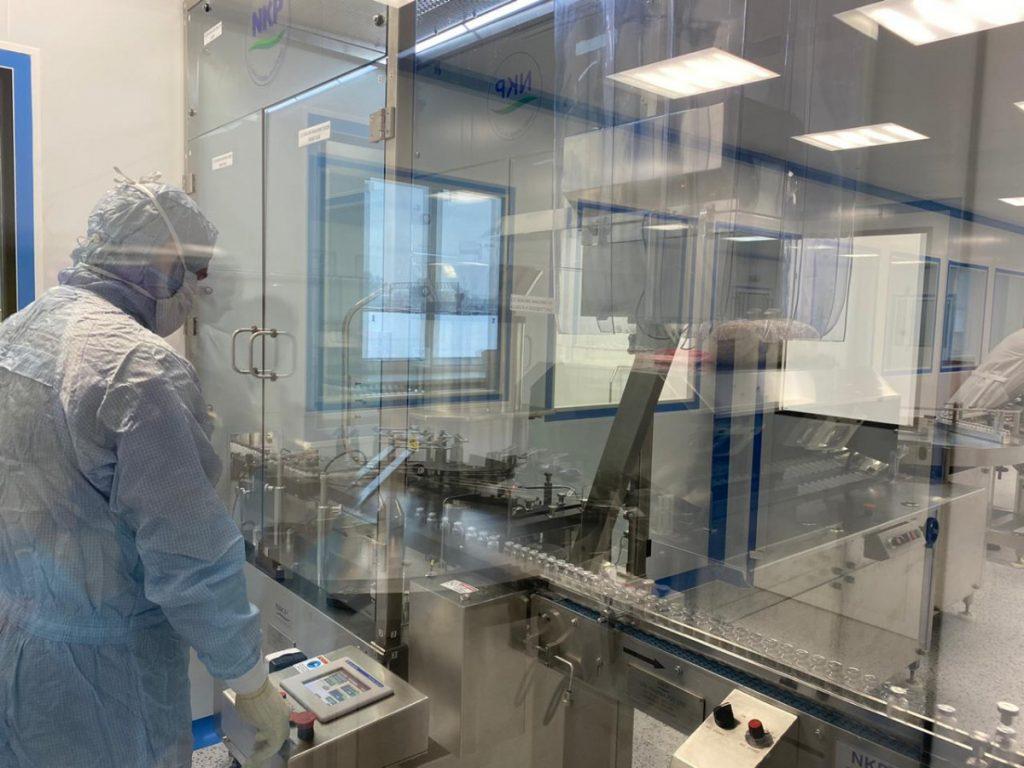 В Тверской области начали производить антибиотик Меропенема
