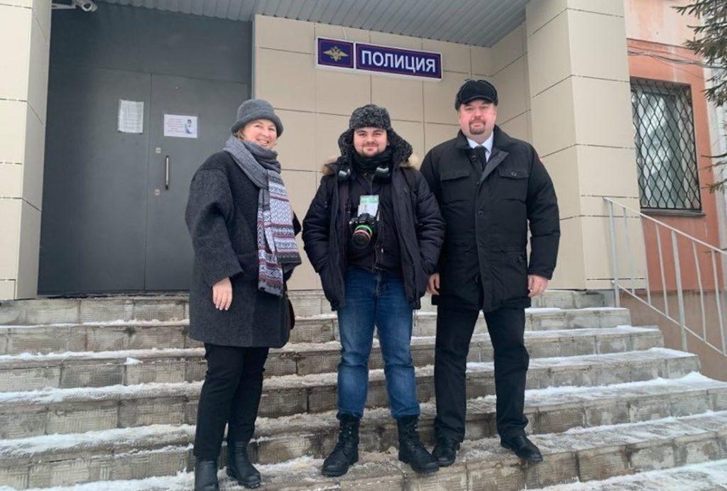 Корреспондента «Каравана», задержанного на акции протеста, выпустили из Центрального РОВД Твери