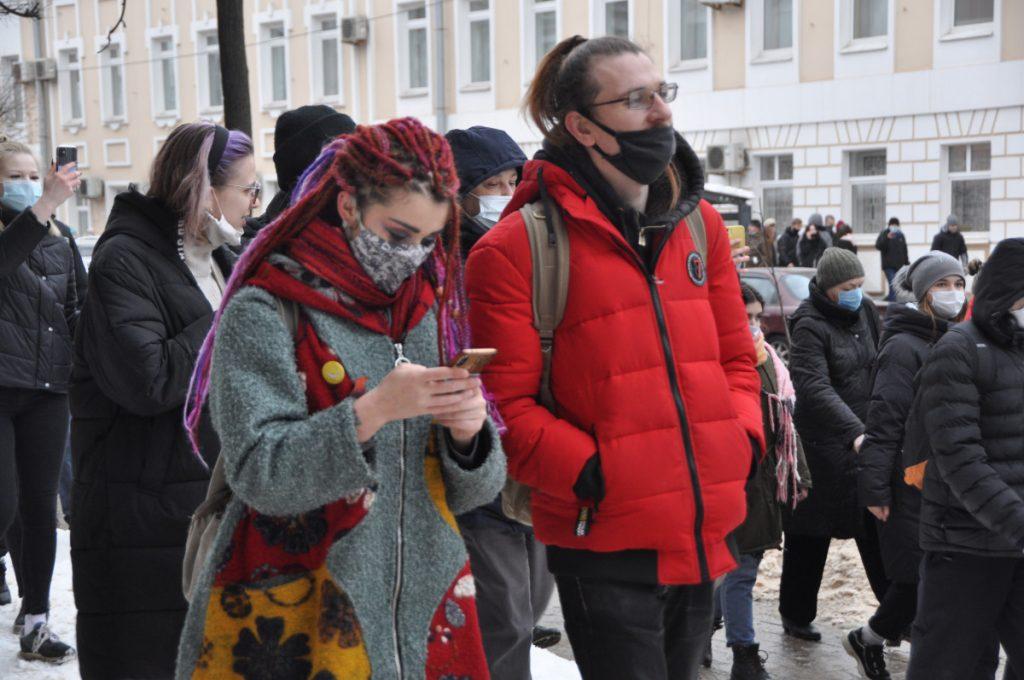 23 января в Твери: все прошло мирно, есть задержанные