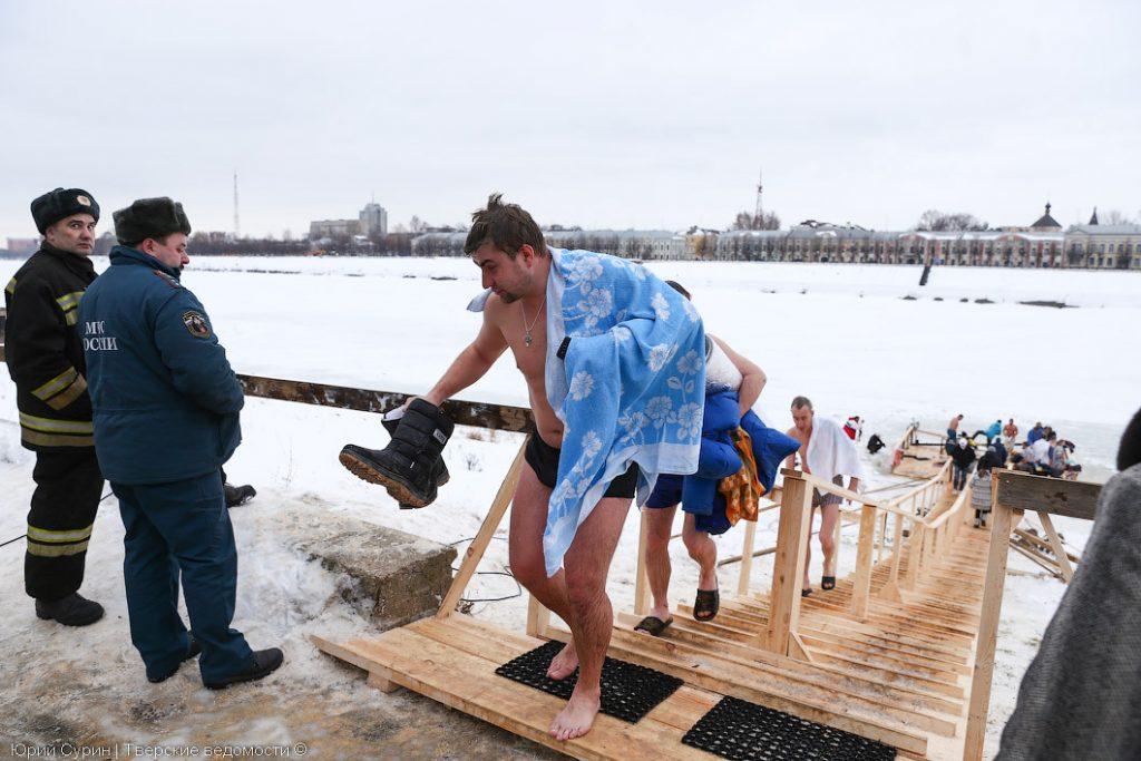 В Тверской области оборудуют более 40 мест для крещенских купаний