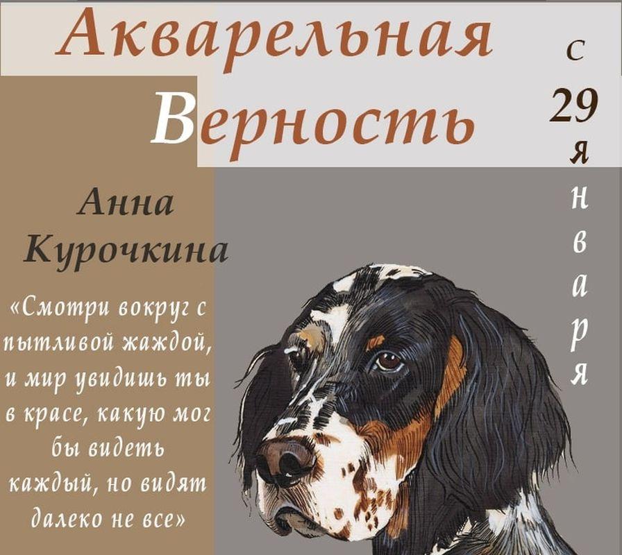 В Твери покажут портреты собак