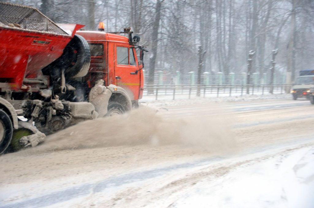 За ночь с дорог Твери вывезли 2700 кубометров снега