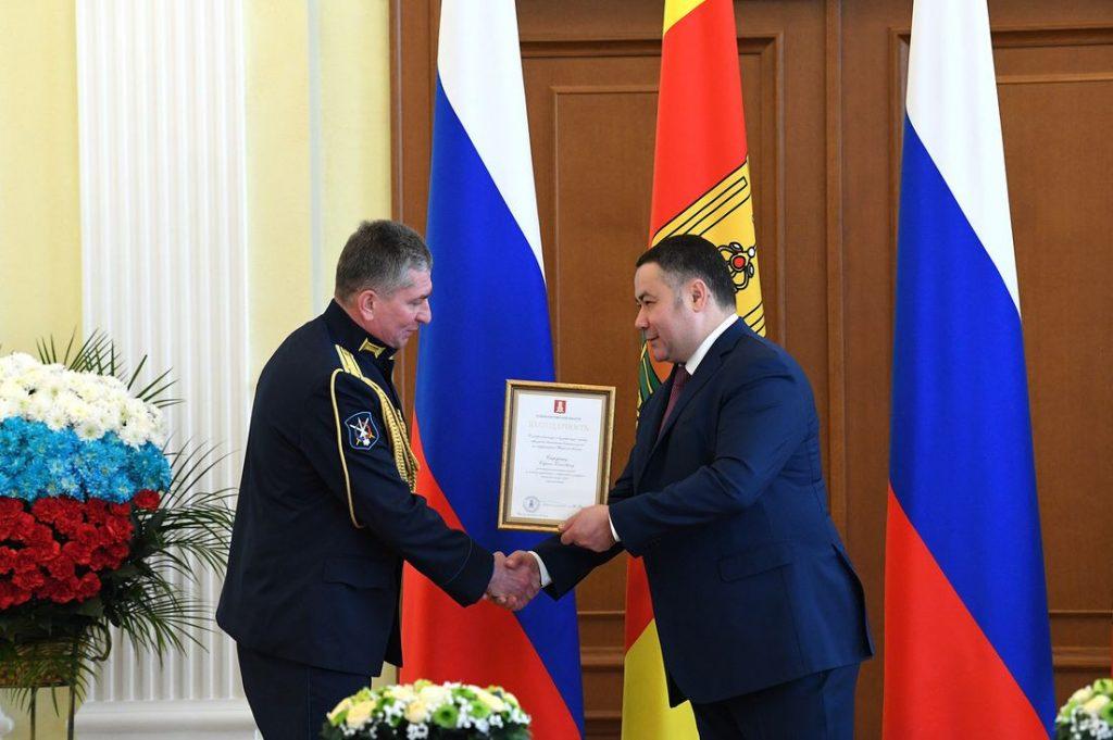 Жители Тверской области удостоены государственных и региональных наград