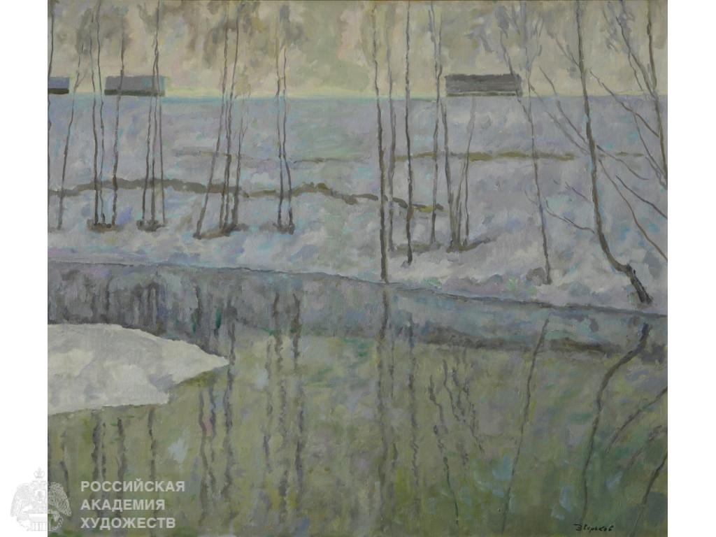 В Российской академии художеств открылась выставка тверского  художника Ефрема Зверькова
