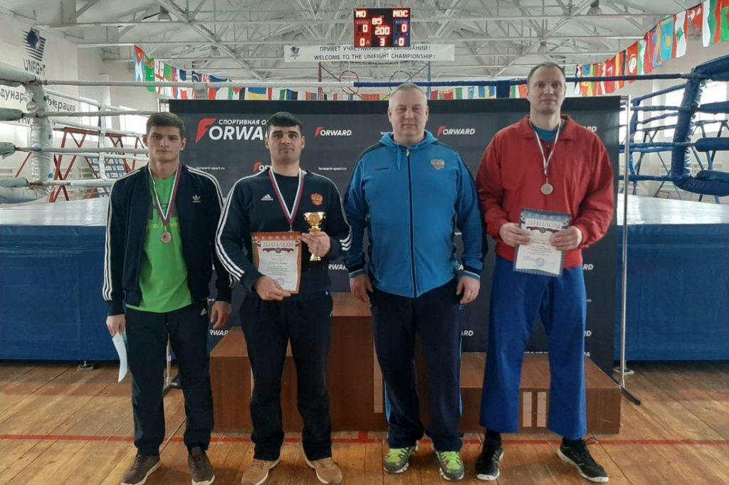 Тверские спортсмены привезли медали с чемпионата ЦФО по универсальному бою