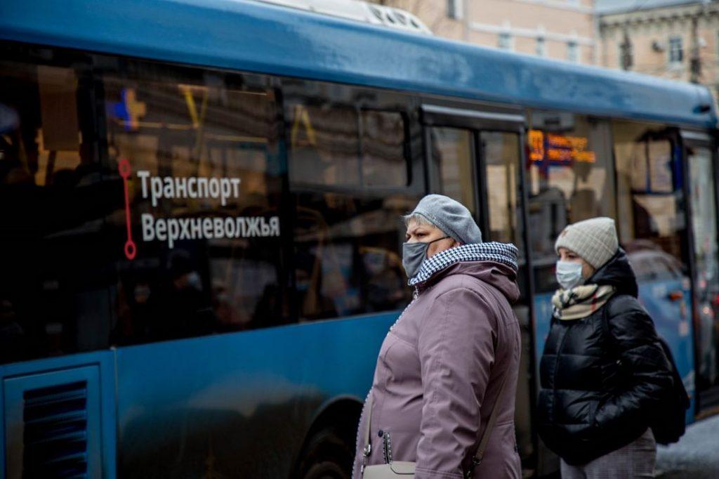 «Транспорт Верхневолжья» перевёз зимой более 18 млн пассажиров