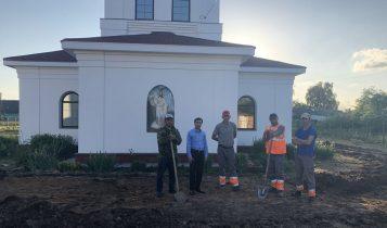 Анар Ильясов: помощь православному храму в Кузьминском