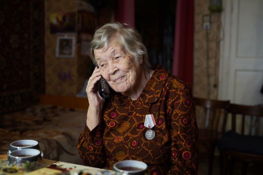 Труженица тыла Мария Рослова отметила вековой юбилей