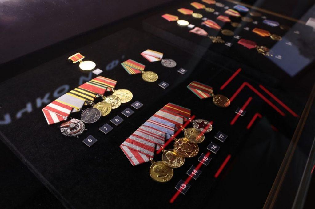 В музее мемориала Советскому солдату выставлены награды участника Ржевской битвы Алексея Рапоты