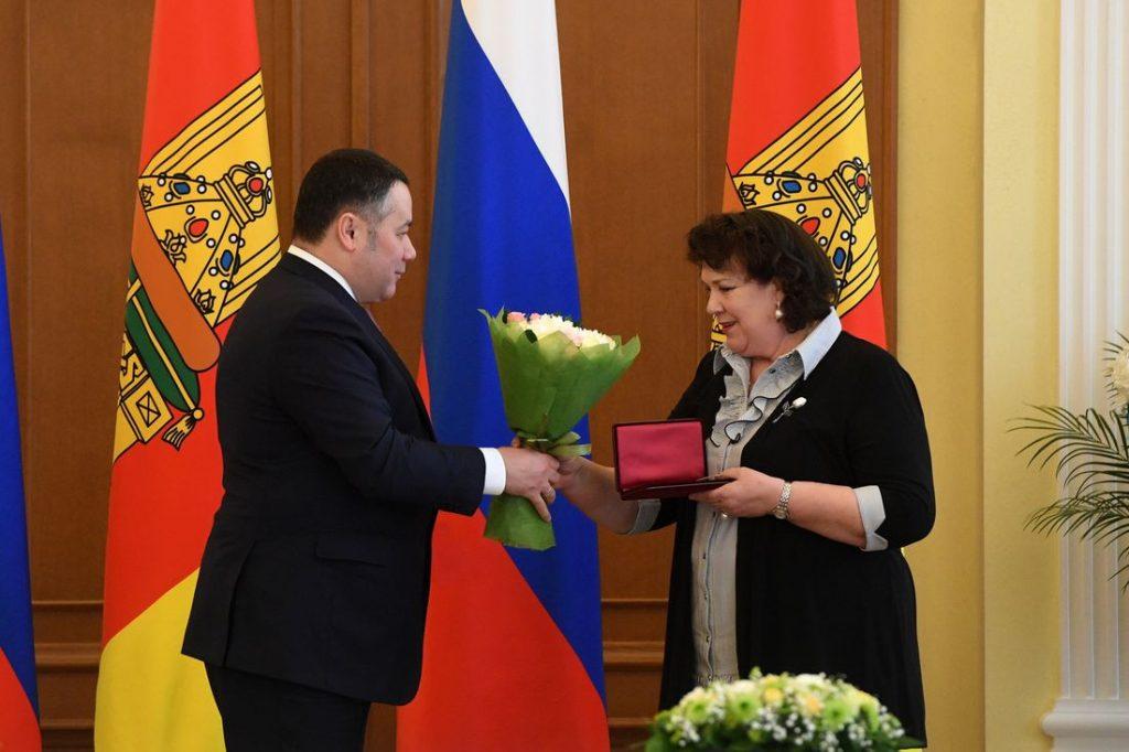 В преддверии Международного женского дня жительницы Тверской области получили награды