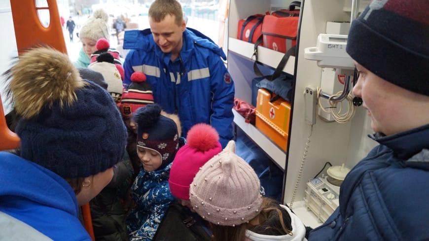 Тверская станция скорой помощи проводит познавательные экскурсии