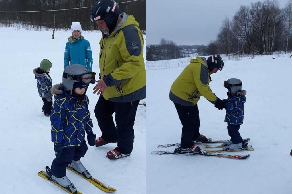 Горные лыжи для ребенка-инвалида – это реально