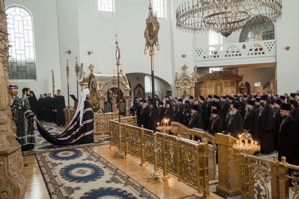 Митрополит Амвросий напутствовал тверских верующих на Великий пост