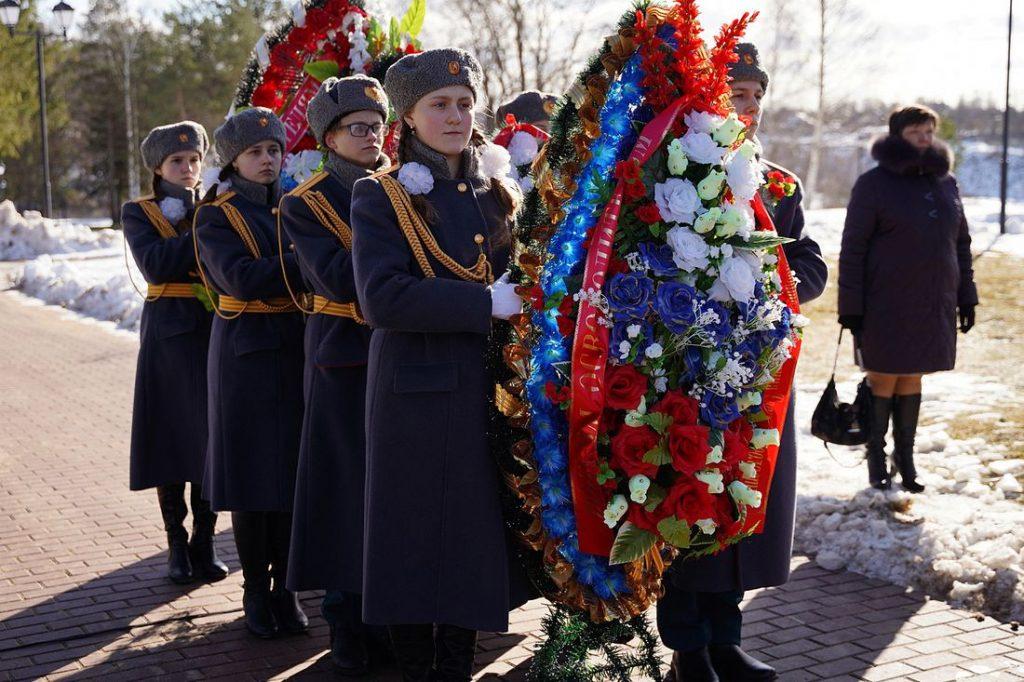 78-ю годовщину освобождения Ржева и Ржевского района отметили у мемориала Советскому солдату