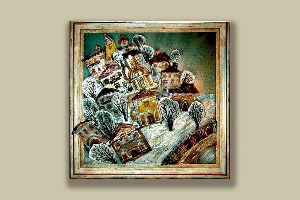 В Твери пройдет выставка картин в технике объемного витража