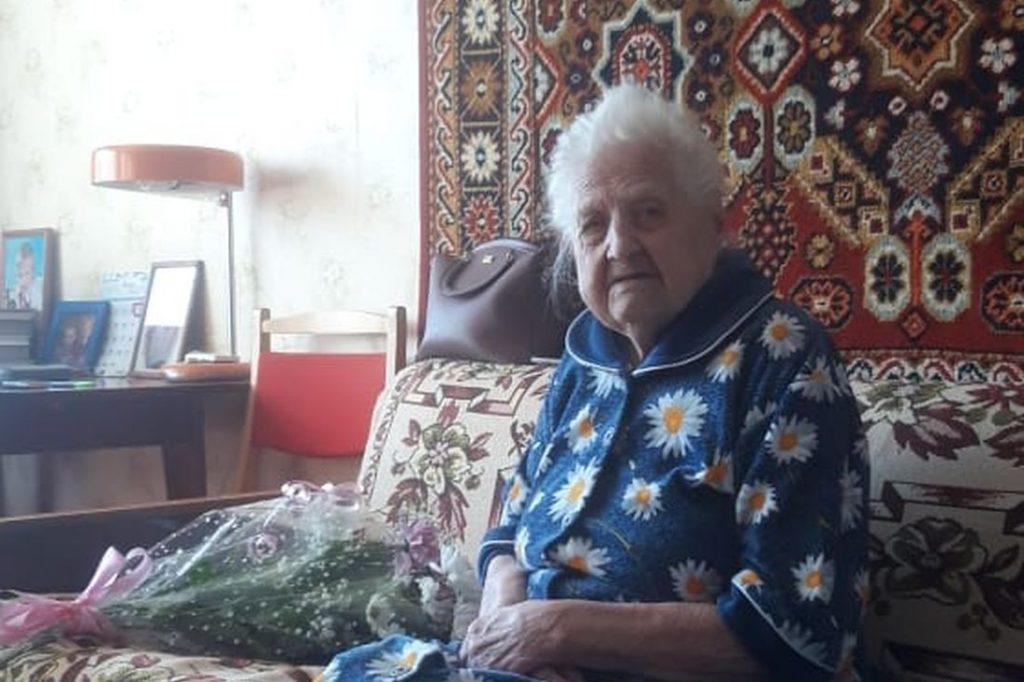 105 лет исполнилось жительнице Вышнего Волочка Евдокие  Патроновой