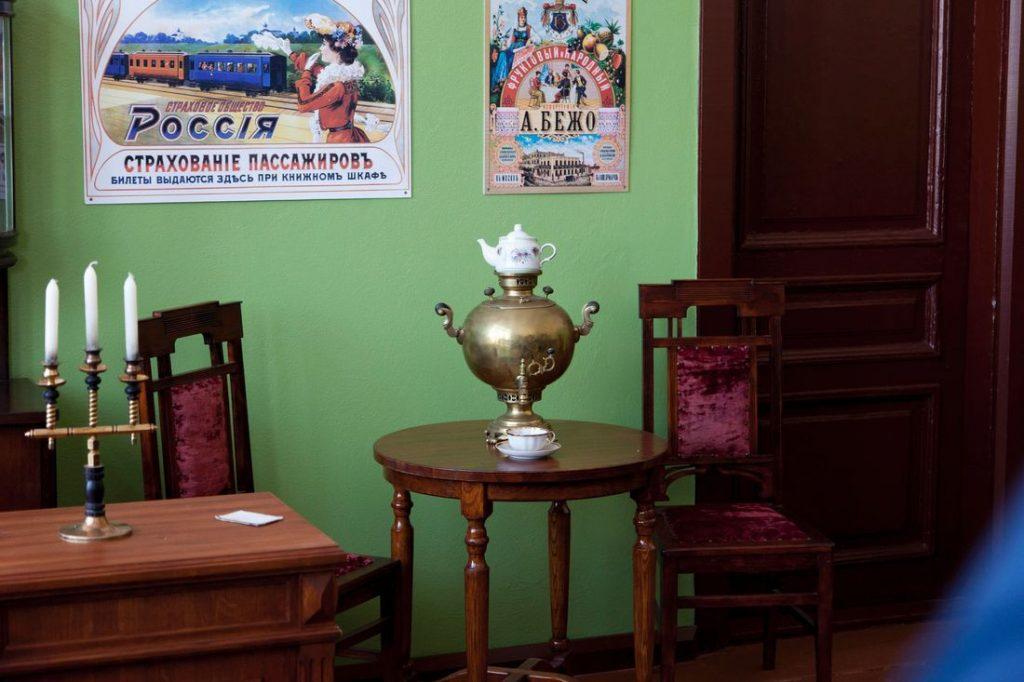 Исторический зал ожидания открылся на станции Куженкино в Тверской области