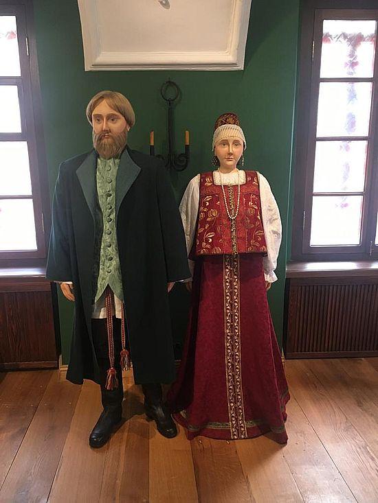 Ультрасовременная выставка дома купцов Арефьевых в Твери