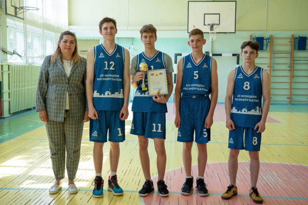 Калининская АЭС: сильнейшие баскетболисты Удомли выступят в финале соревнований «Планета баскетбола – оранжевый атом»