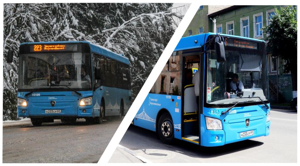 Вместо новых автобусов в Кимрах на маршрут вышло несколько тверских старых