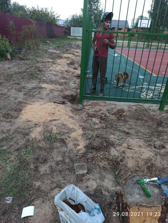 Борьба за спортплощадку в Николо-Малице под Тверью продолжается