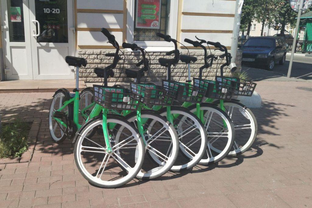 С улиц Твери исчезли велосипеды «Зеленого города»