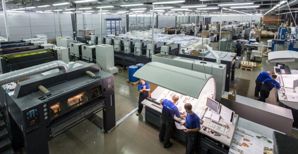Издательство «Эксмо» покупает полиграфический комплекс «Парето-Принт» в Тверской области